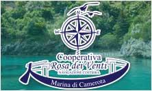 Coop Rosa dei Venti Marina di Camerota, gite alle grotte e porto infreschi